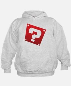 Warped Question - Red Hoodie