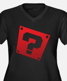 Warped Question - Red Plus Size T-Shirt