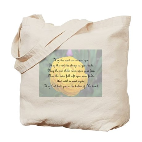 May the Road Rise to You Tote Bag