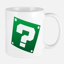 Warped Question - Green Mugs