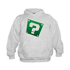 Warped Question - Green Hoodie
