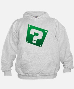 Warped Question - Green Hoodie