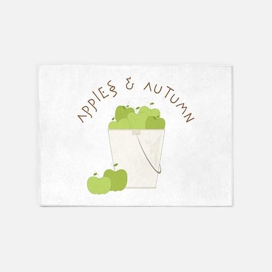 Apple & Autumn 5'x7'Area Rug