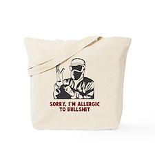 Allergic Bullshit Tote Bag