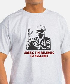 Allergic Bullshit T-Shirt