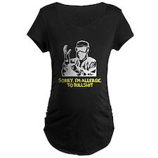 Allergic Bullshit Maternity T-Shirt