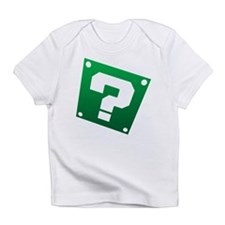 Warped Question - Green Infant T-Shirt