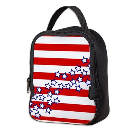 Stars and Stripes Neoprene Lunch Bag
