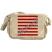 Stars and Stripes Messenger Bag