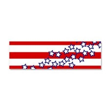 Stars and Stripes Car Magnet 10 x 3