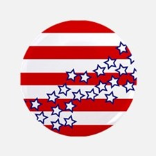 "Stars and Stripes 3.5"" Button (100 pack)"