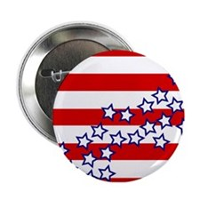 "Stars and Stripes 2.25"" Button"