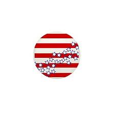 Stars and Stripes Mini Button