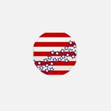 Stars and Stripes Mini Button