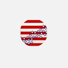 Stars and Stripes Mini Button (100 pack)