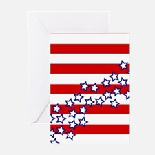 Stars and Stripes Greeting Cards (Pk of 10)