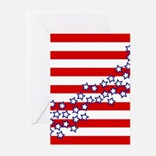 Stars and Stripes Greeting Cards (Pk of 20)