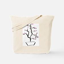 cherry bonsai Tote Bag