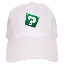 Warped Question - Green Baseball Baseball Cap