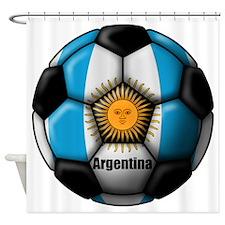 Argentina Ball Shower Curtain