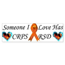 Someone I Love Has CRPS RSD Ribbon 3 x10 Car Magn