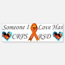 Someone I Love Has CRPS RSD Ribbon 3 x10 Car Magn