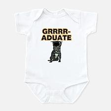 Graduation French Bulldog Infant Bodysuit