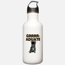 Graduation French Bull Water Bottle