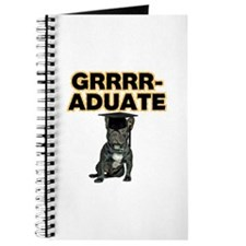 Graduation French Bulldog Journal
