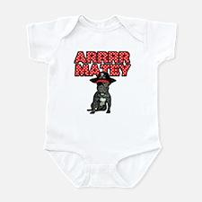 Pirate French Bulldog Infant Bodysuit