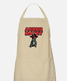 Pirate French Bulldog Apron