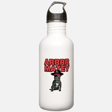 Pirate French Bulldog Water Bottle