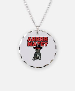 Pirate French Bulldog Necklace