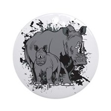 The Rhinos Ornament (Round)