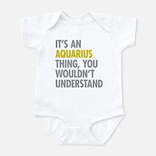 Aquarius Thing Infant Bodysuit