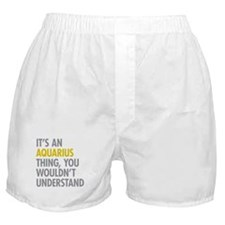 Aquarius Thing Boxer Shorts