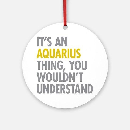 Aquarius Thing Ornament (Round)