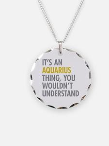 Aquarius Thing Necklace