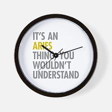 Aries Thing Wall Clock