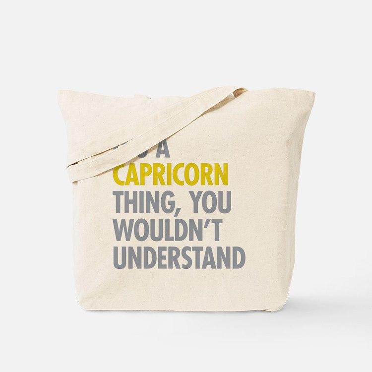 Capricorn Thing Tote Bag