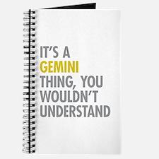 Gemini Thing Journal