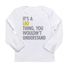 Leo Thing Long Sleeve Infant T-Shirt