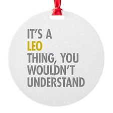 Leo Thing Ornament