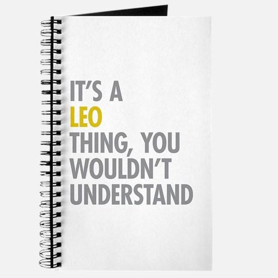 Leo Thing Journal