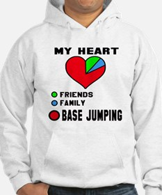 My Heart Friends, Family and Bas Hoodie