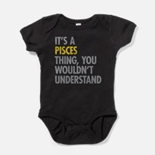 Pisces Thing Baby Bodysuit