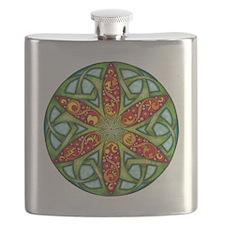 Celtic Summer Mandala Flask