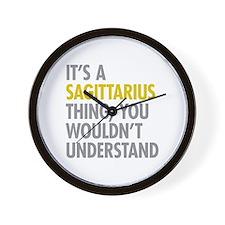 Sagittarius Thing Wall Clock