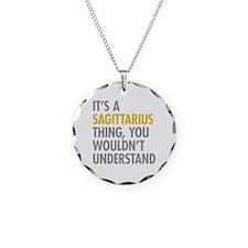 Sagittarius Thing Necklace