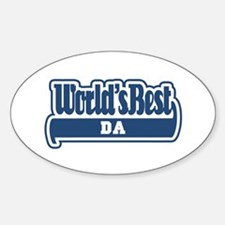 WB Dad [Chechen] Oval Decal
